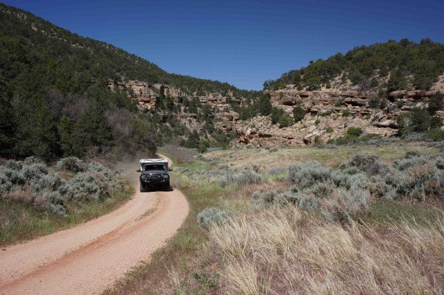 A1-Exploring country in Grand Canyon Nat Forest