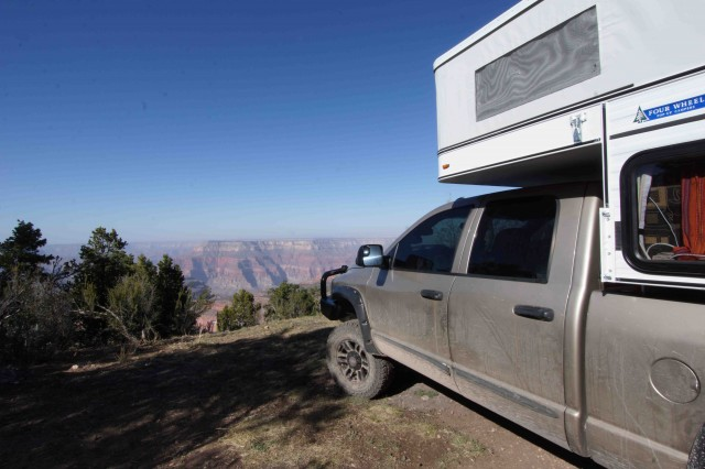 A4-Our camp on the North Rim of the Grand Canyon