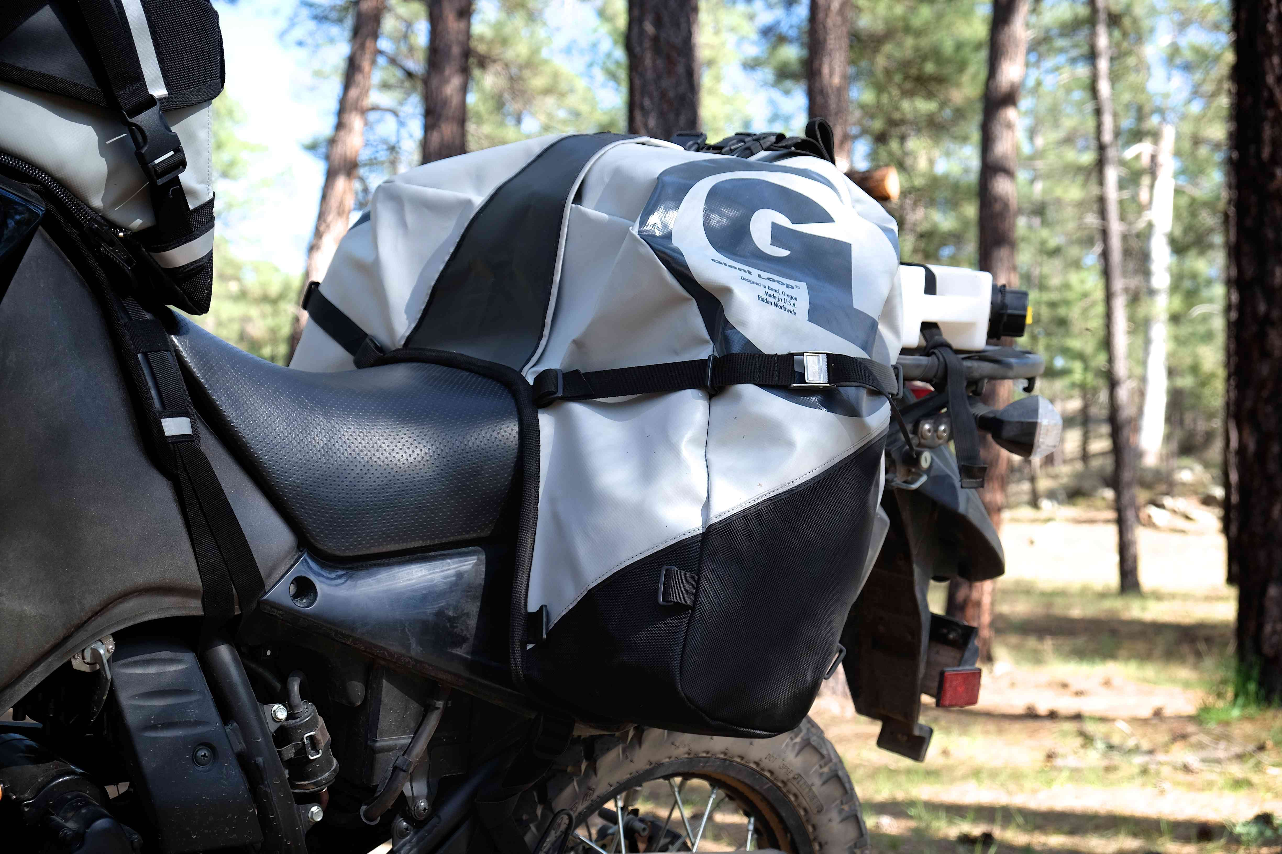 With A Call To Giant Loop We Had Two New Bags On Route And In One Fell Swoop Our Luggage Solution Was Complete