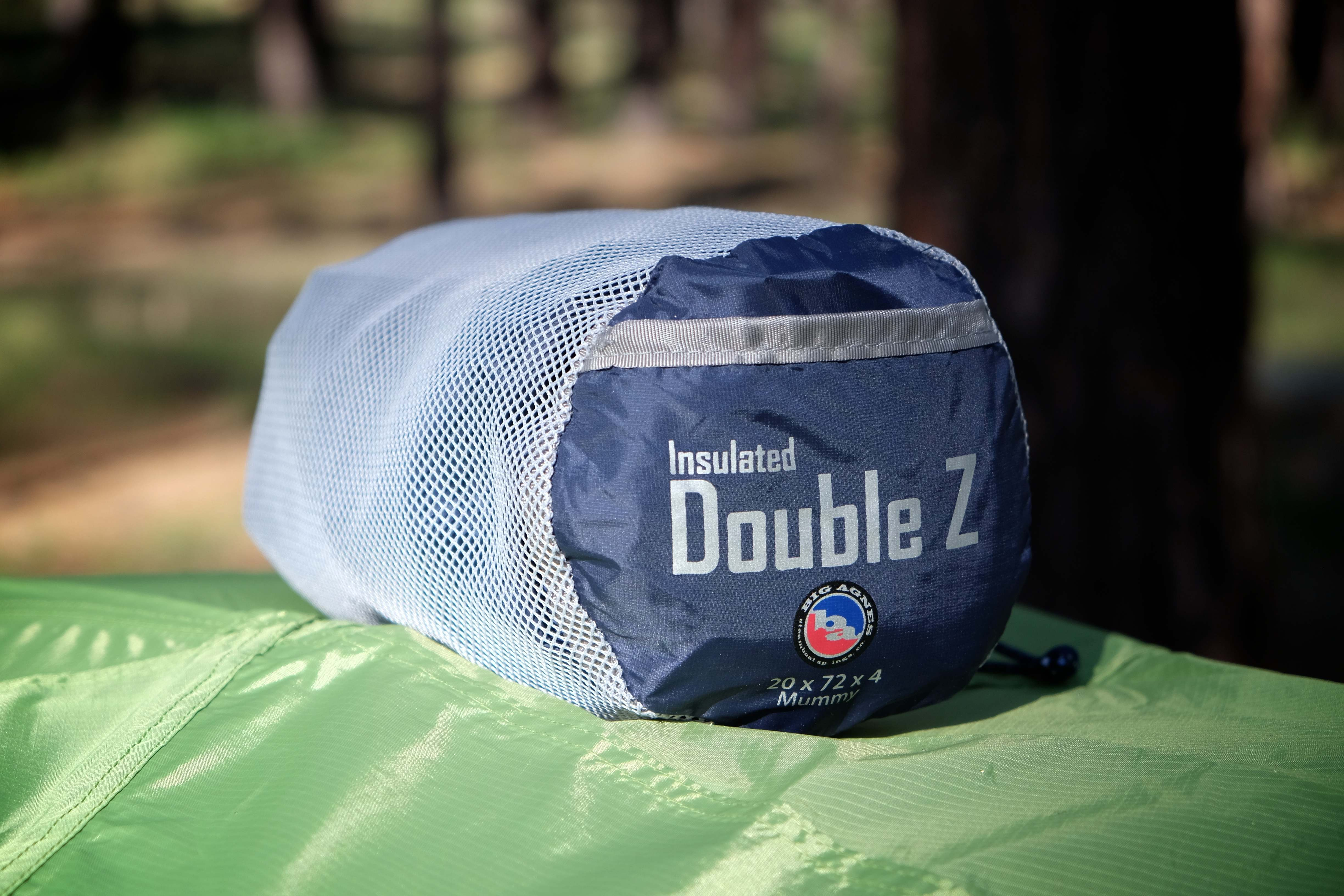 Field Tested Big Agnes Insulated Double Z Sleeping Pad