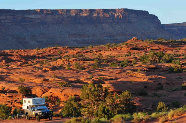 Moa5-Free remote campsite in the BLM lands near Canyonlands NP