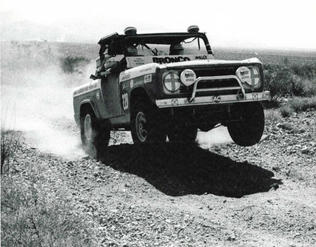 ORMHOF Bronco - Mint400 March 1975 - Trackside copyright