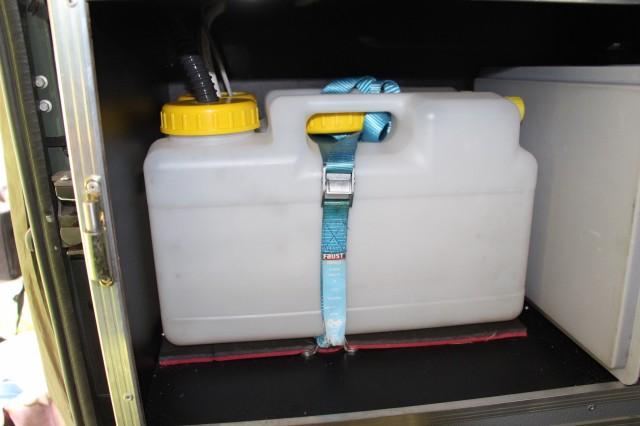 4-wheel-nomads freshwater and greywater tanks below sink