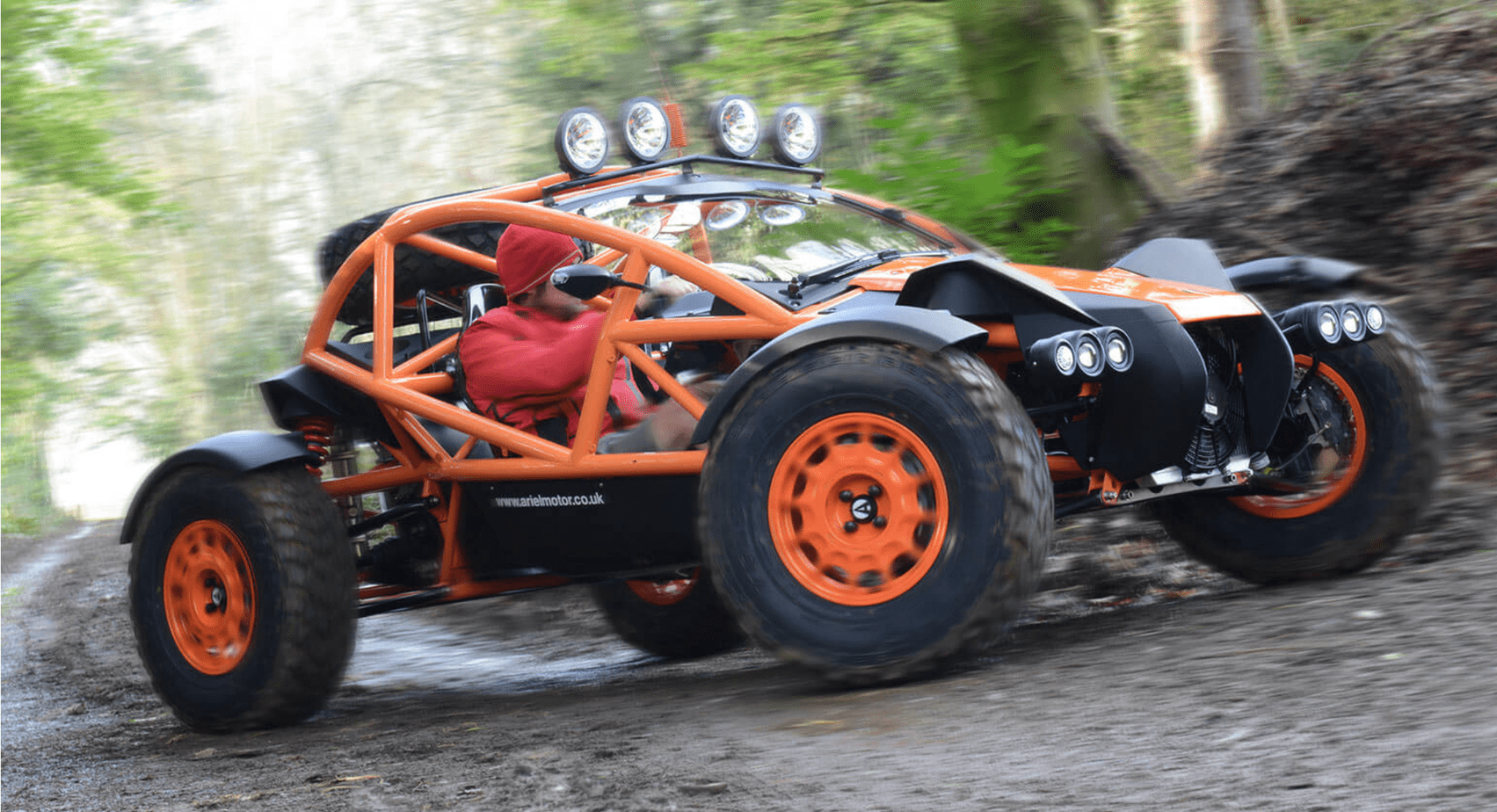 The Ariel Atom's Evil Twin Hits the Dirt.