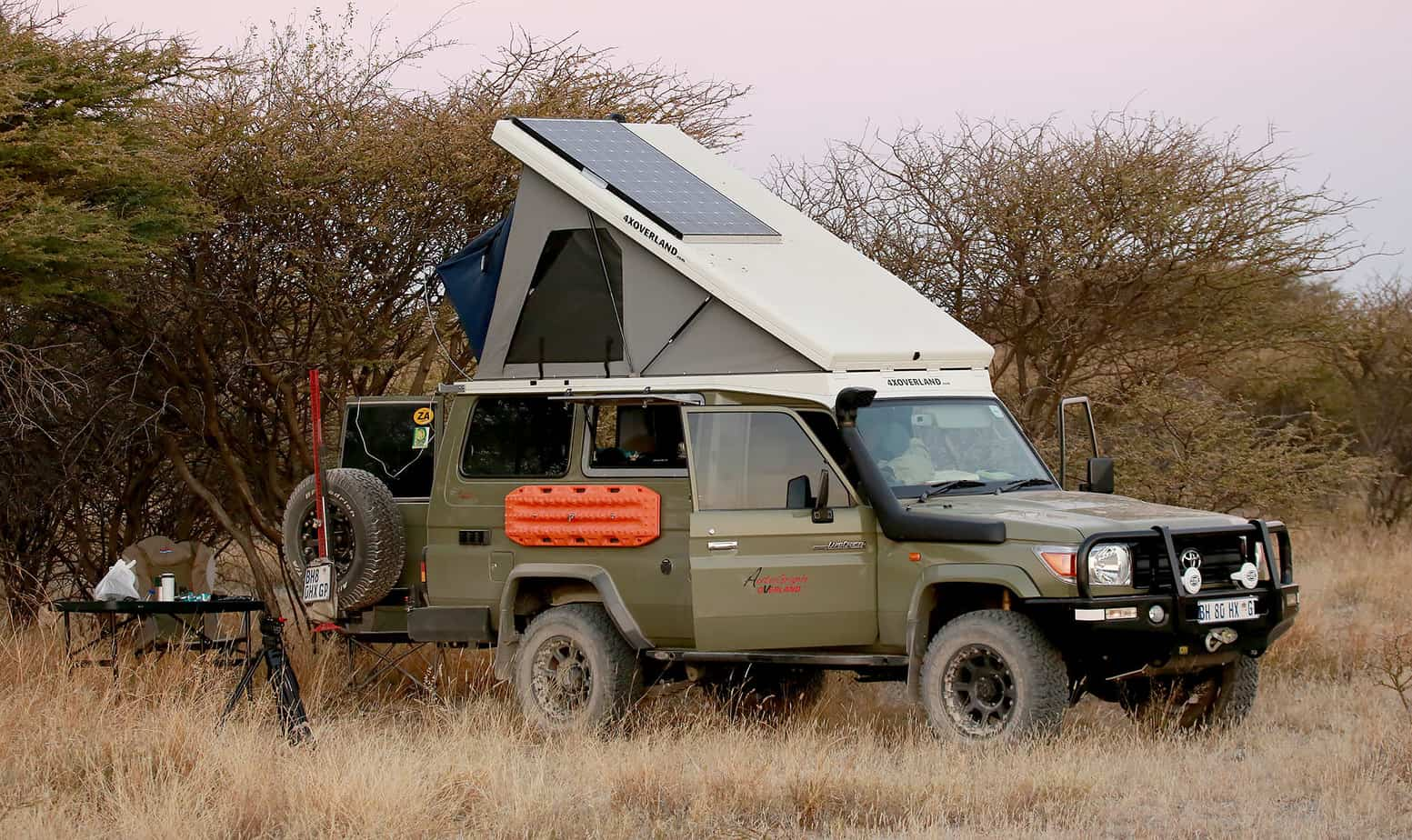 The building and testing of the Ultimate World Toyota Land Cruiser