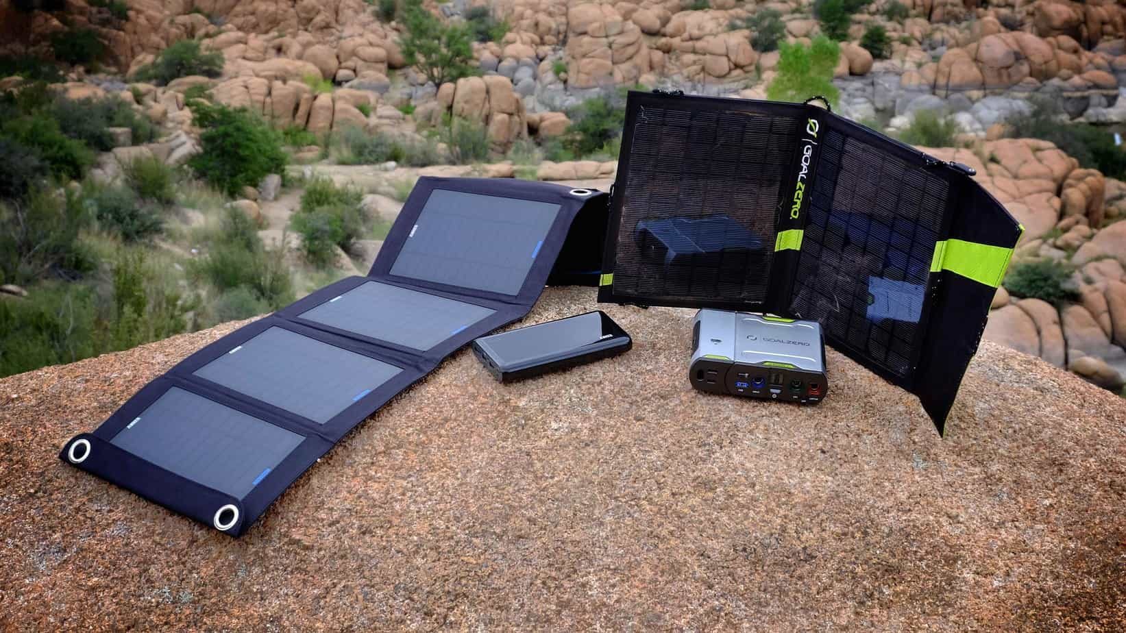 Head to Head: Sherpa 50 Solar Kit vs. Anker E7 14W Solar Charger
