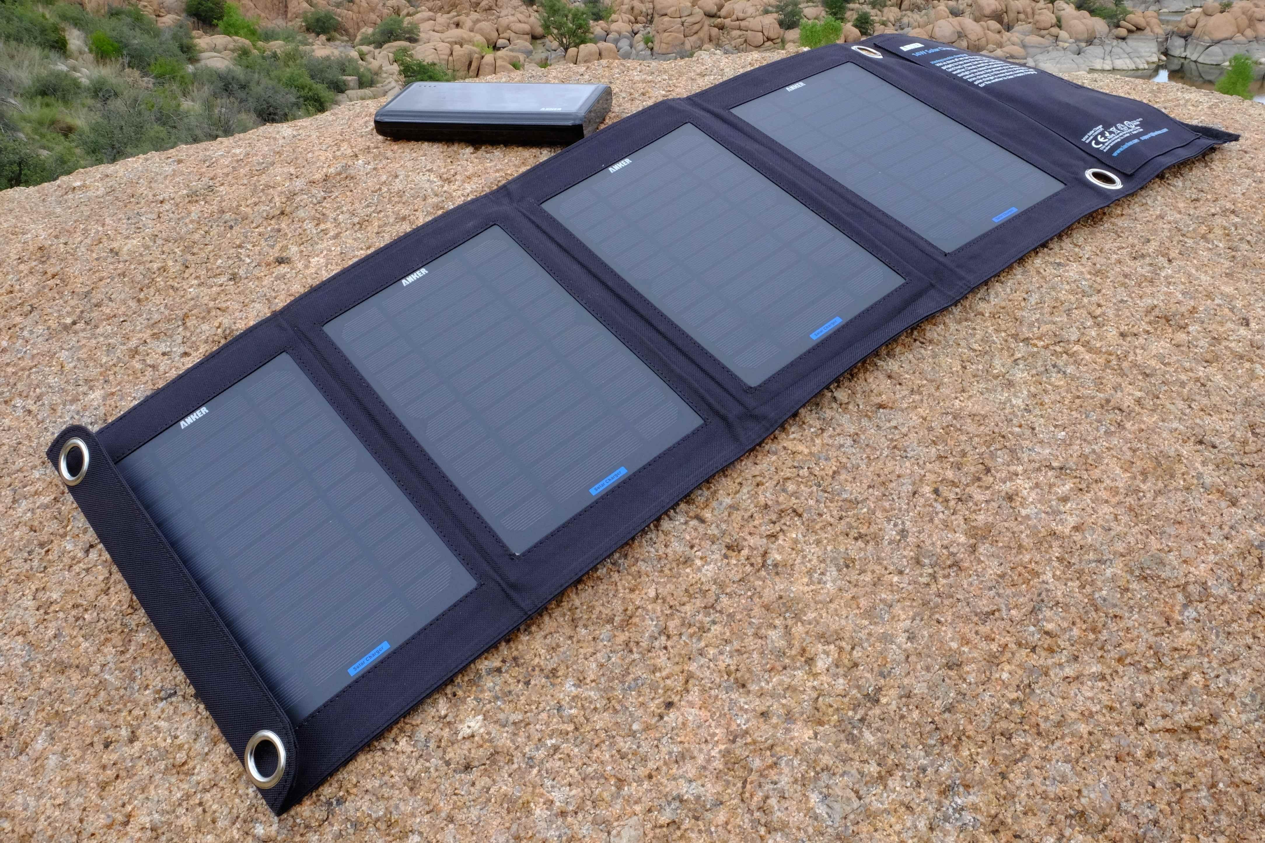 Head To Head Sherpa 50 Solar Kit Vs Anker E7 14w Solar