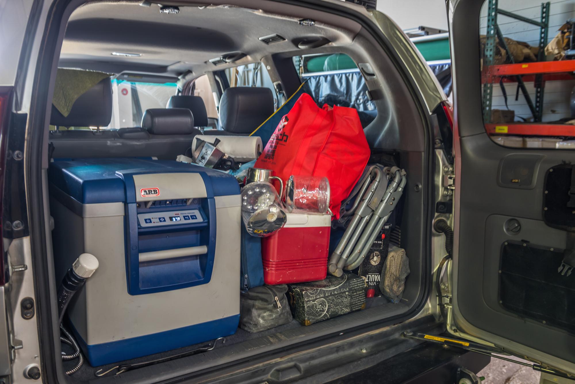 Adventure Driven Lexus GX470 pre drawer install-1