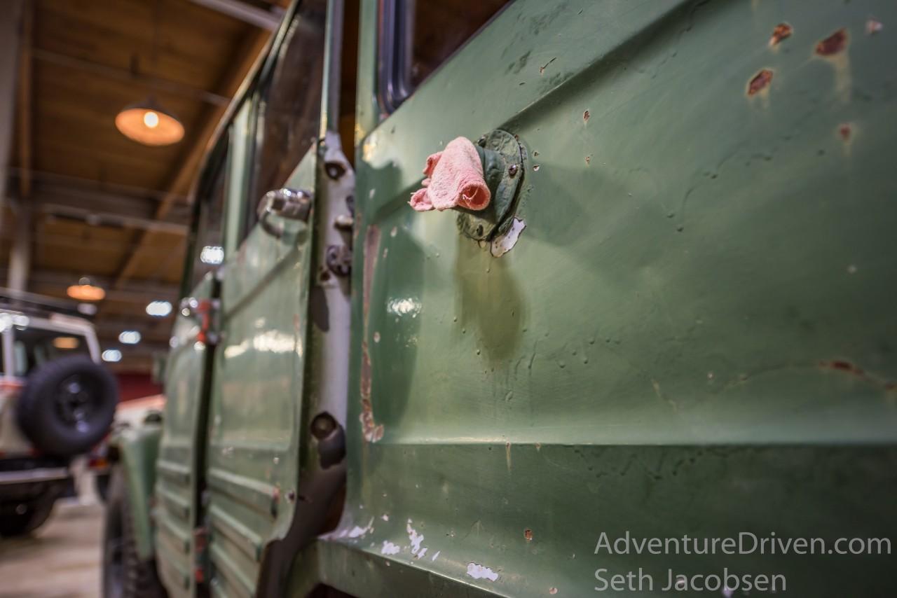 land cruiser heritage museum gas cap rag-1