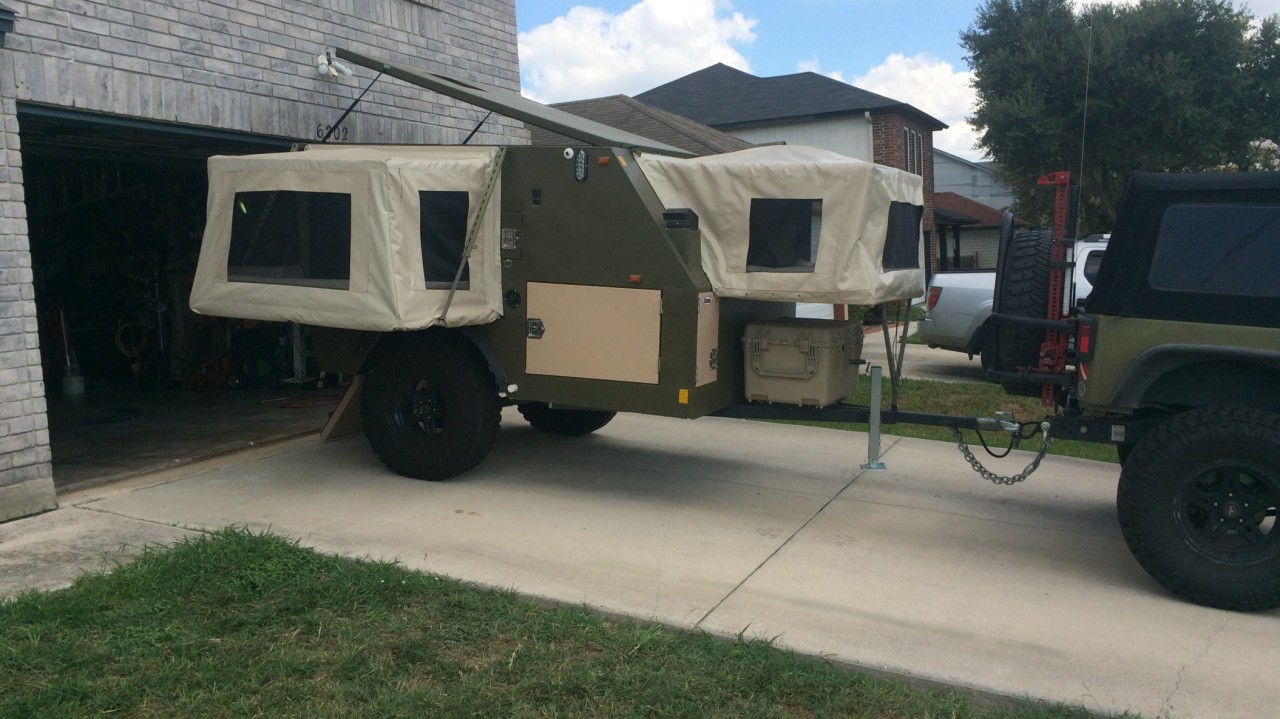 Four Wheel Camper >> Featured Trailer Build: Rutdigger's DIY UEV440 – Expedition Portal