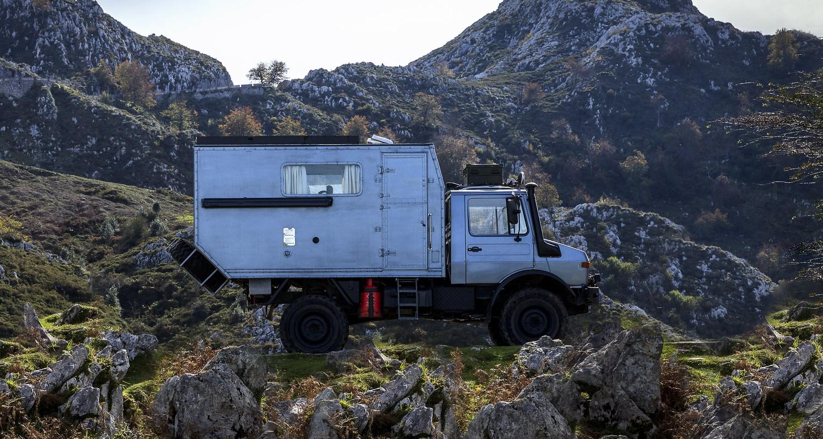 Featured Vehicle- Mowgli the Unimog-4
