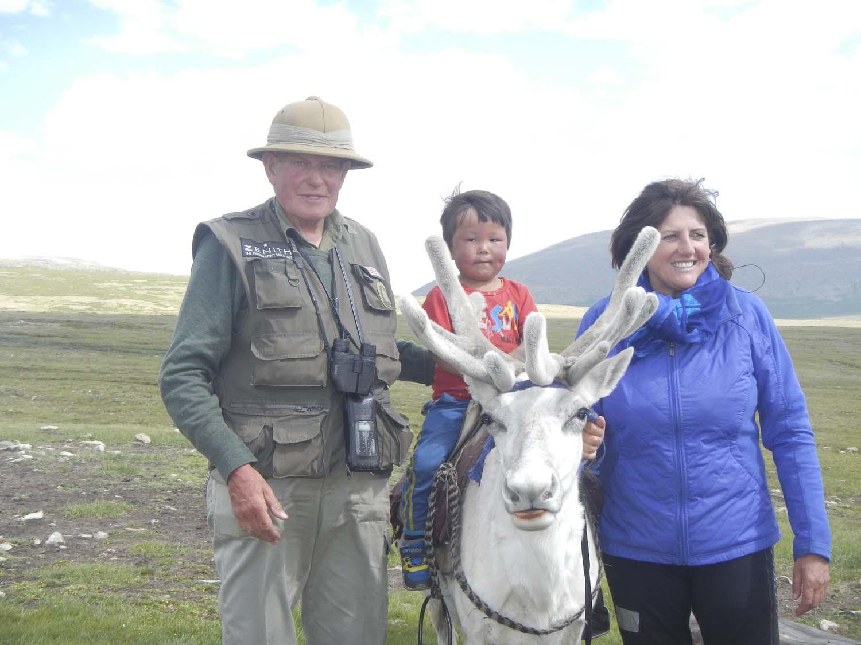 Mongolia 2013 rain deer
