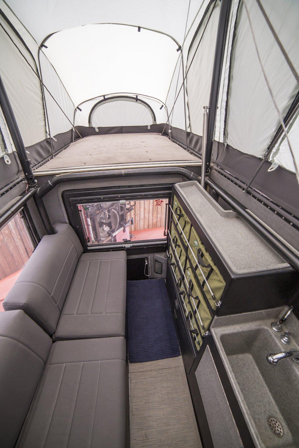 earthraomer int bed seats storage vert