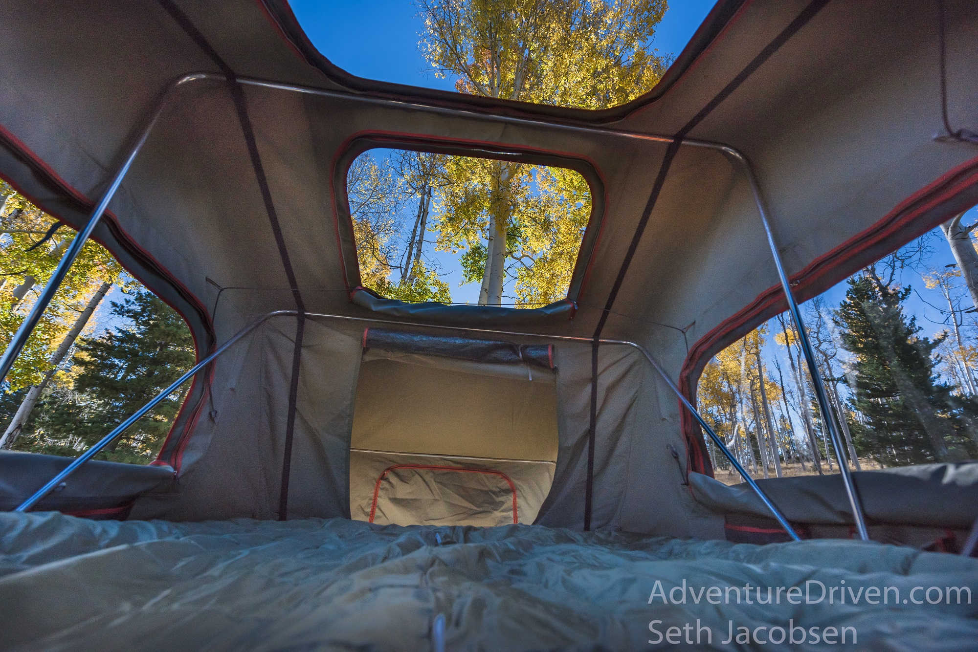Adventure Driven roof top tent aspens-1
