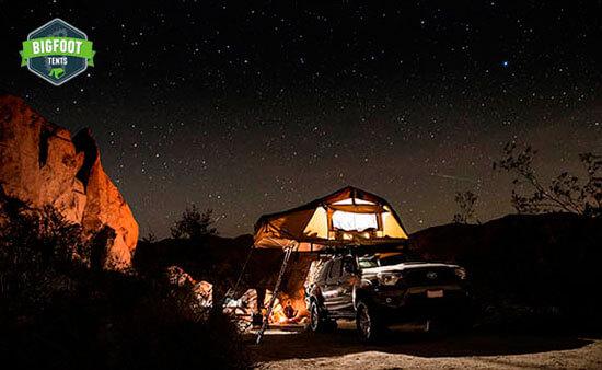 Bigfoot Roof Top Tent installed
