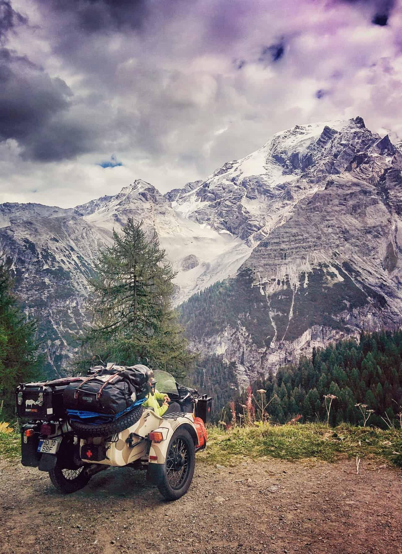 Stelvio Pass, Italy.