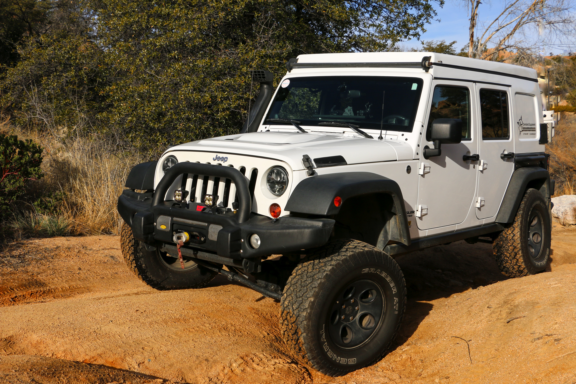 Raised Jeep Wrangler >> Featured Vehicle: AT Overland Jeep JK – Expedition Portal