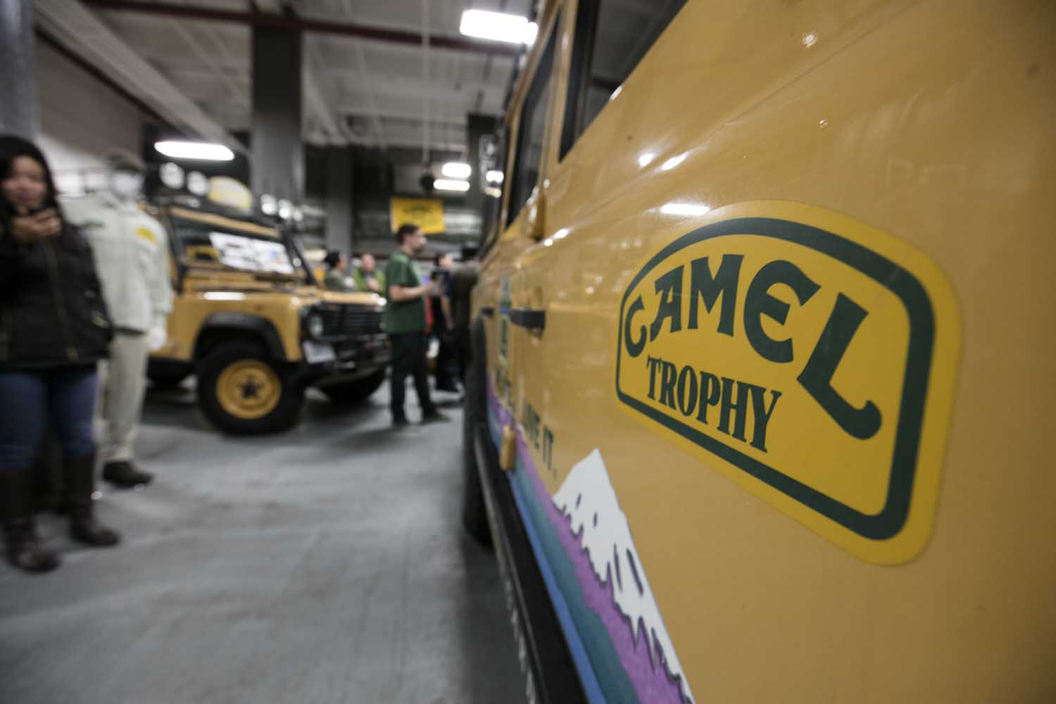 Return to Camel Trophy 007