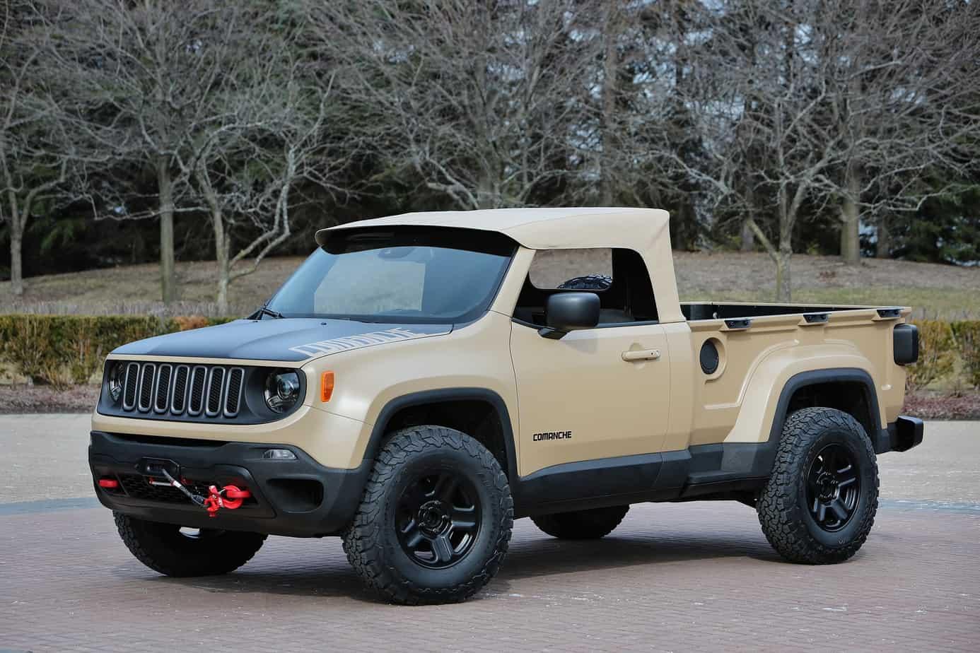 Jeep® Comanche Concept