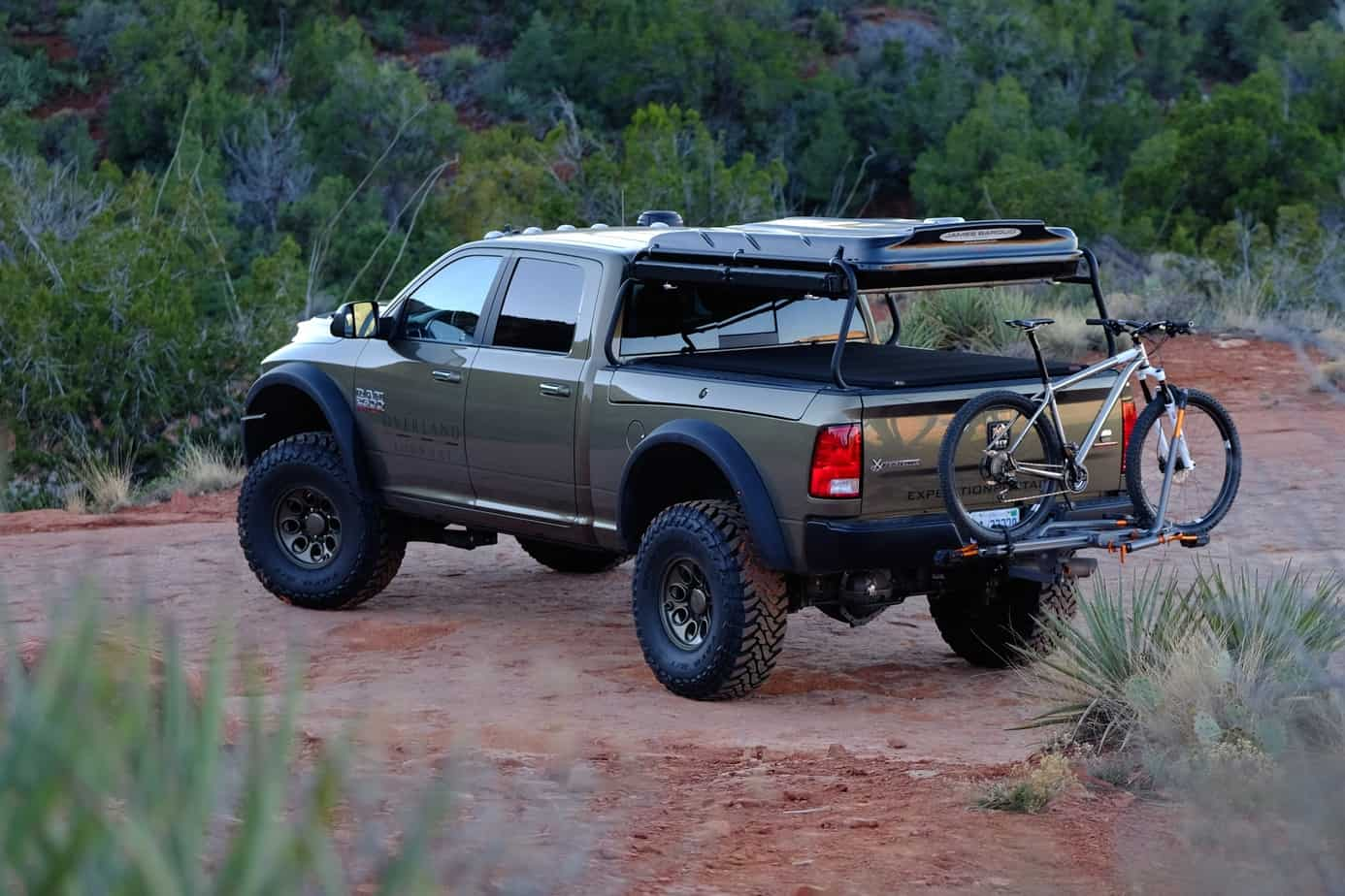 Featured vehicle american expedition vehicles ram prospector expedition portal