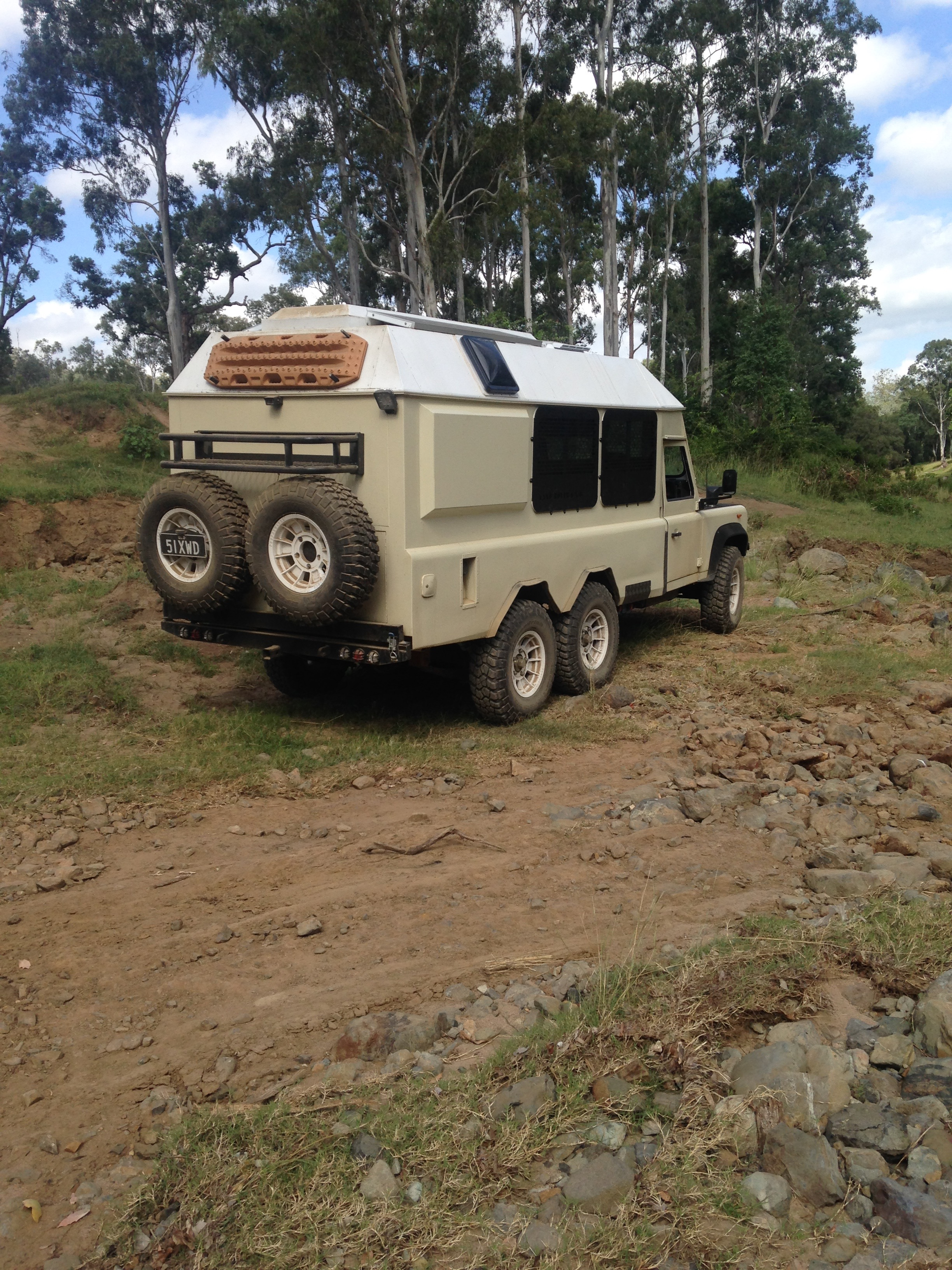 Featured Build 6x6 Defender Camper Expedition Portal
