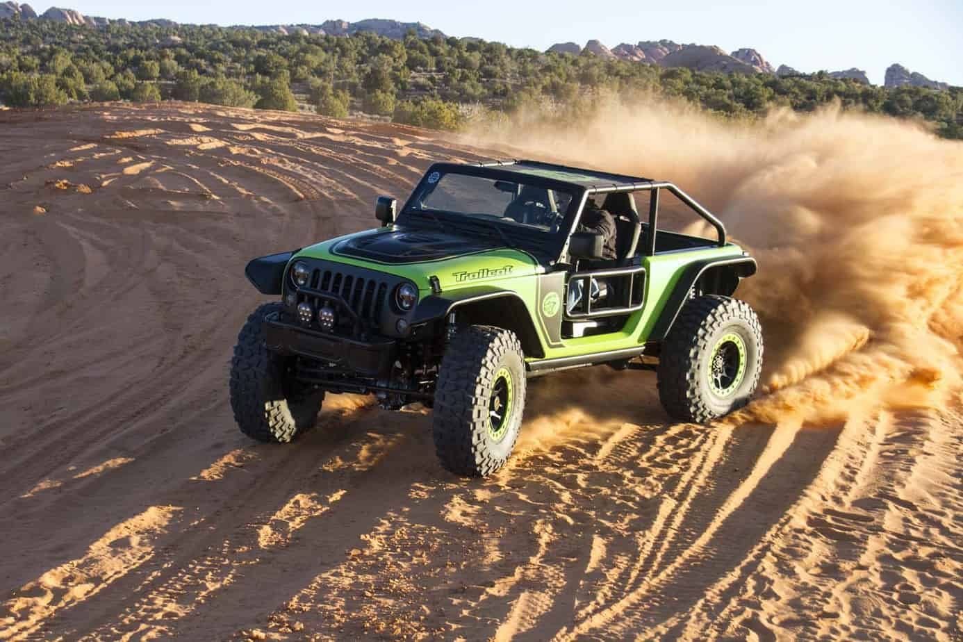 Jeeps New Concept Vehicles Hit The Trail