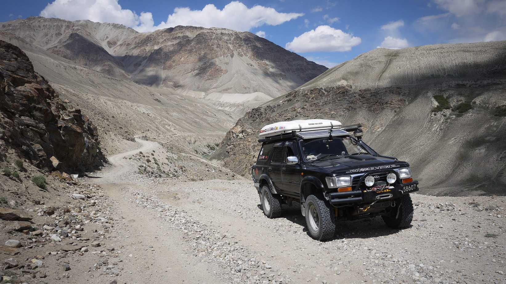 The Wakhan Corridor Road