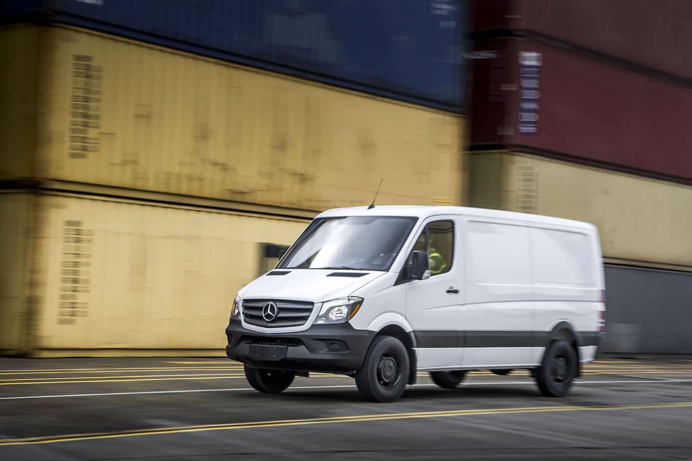 Mercedes benz announces new sprinter worker van for Sprinter mercedes benz 2016