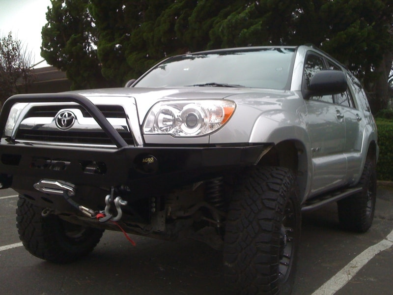Demello offroad steel 4runner single hoop2