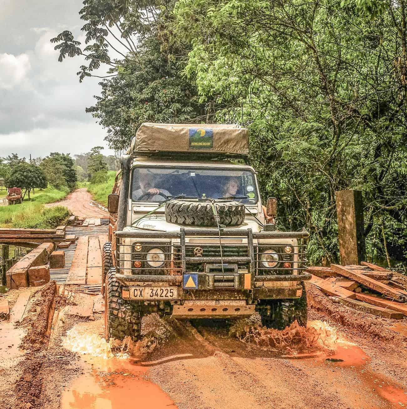 Linden to Lethem Jungle road, British Guyana, 2014