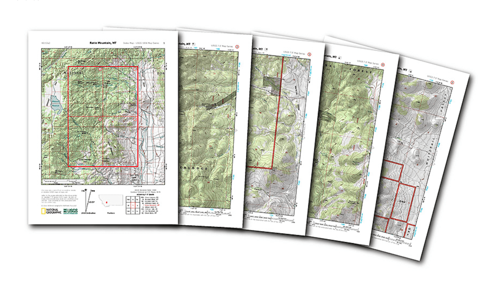 National Geographic Now Offering USGS Maps For Free
