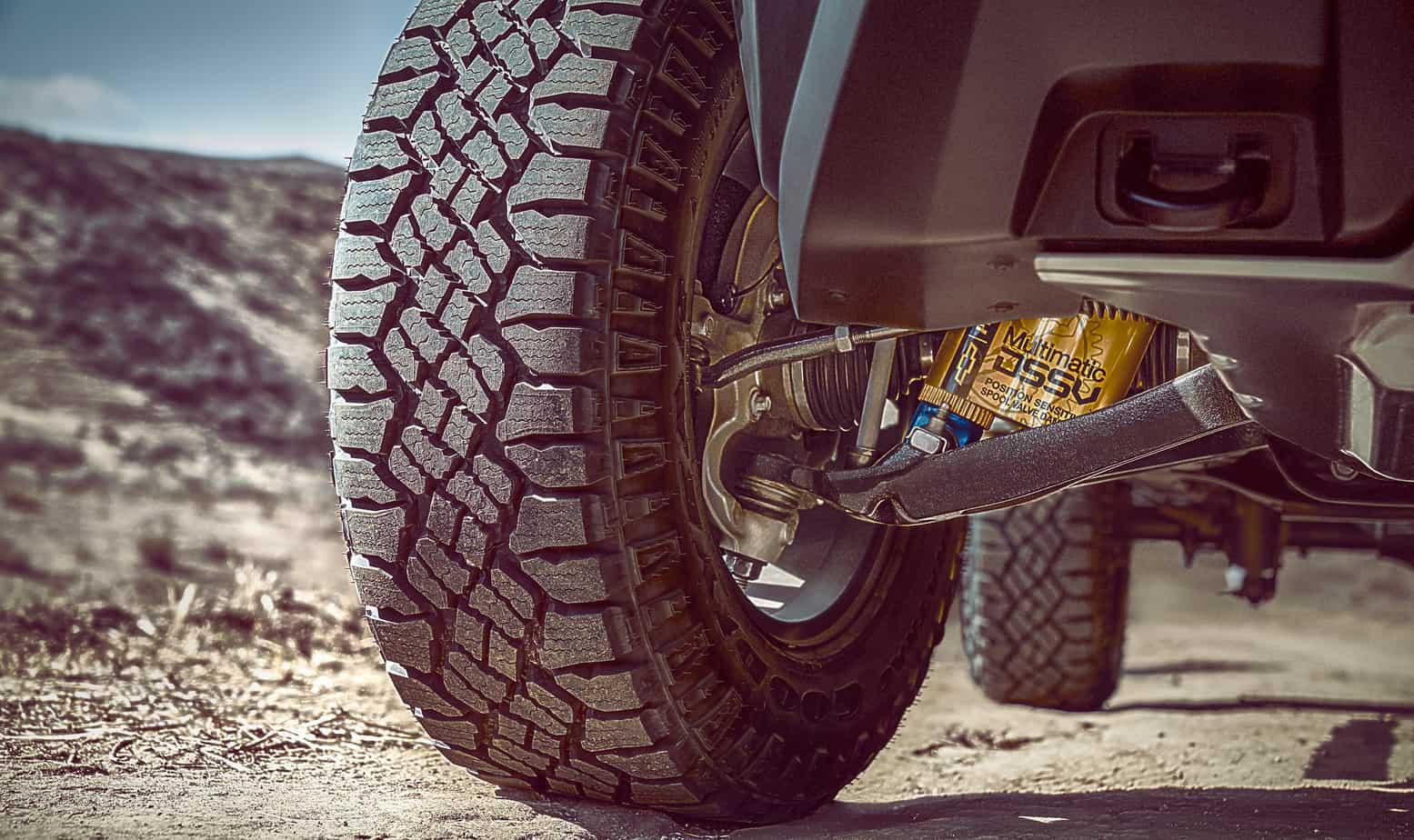 2017 Chevrolet Colorado ZR2 -- Multimatic DSSV Damper