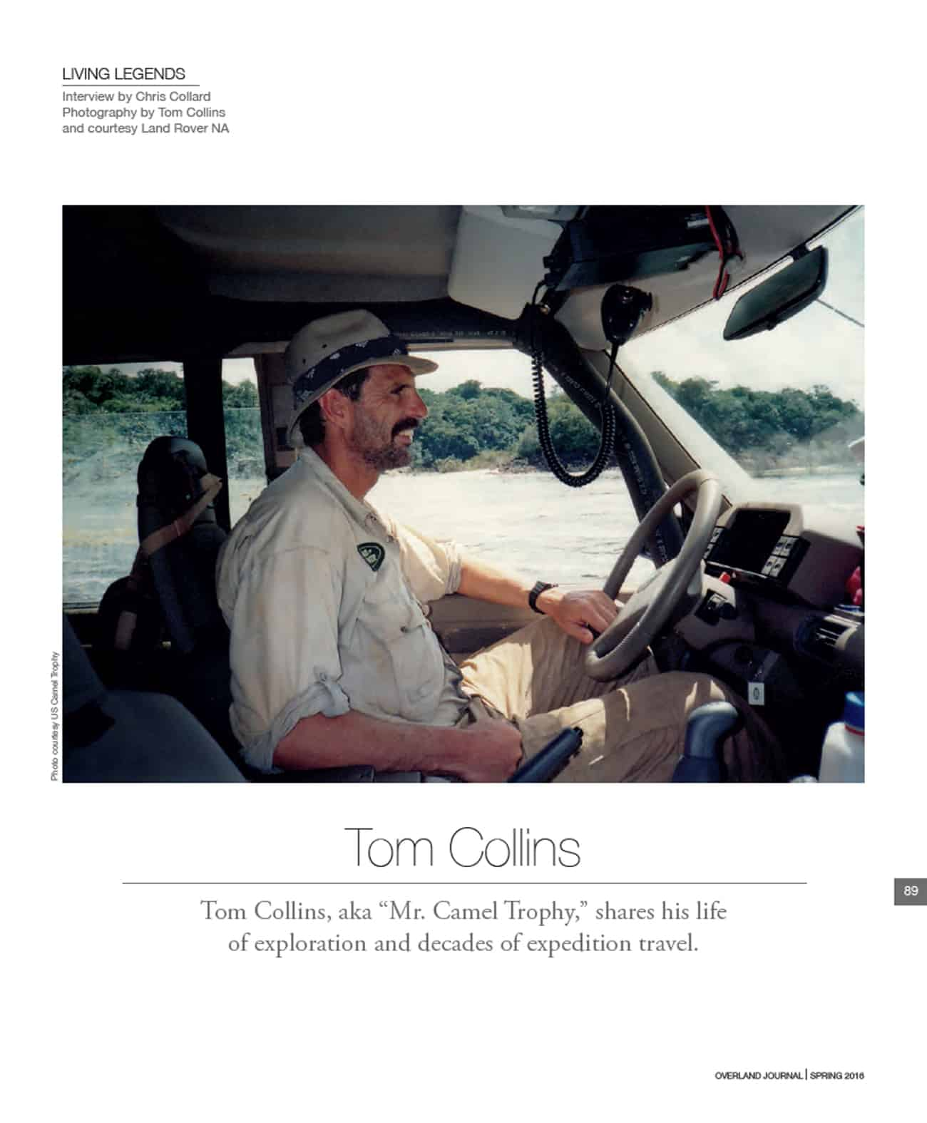 Living Legend Tom Collins 001