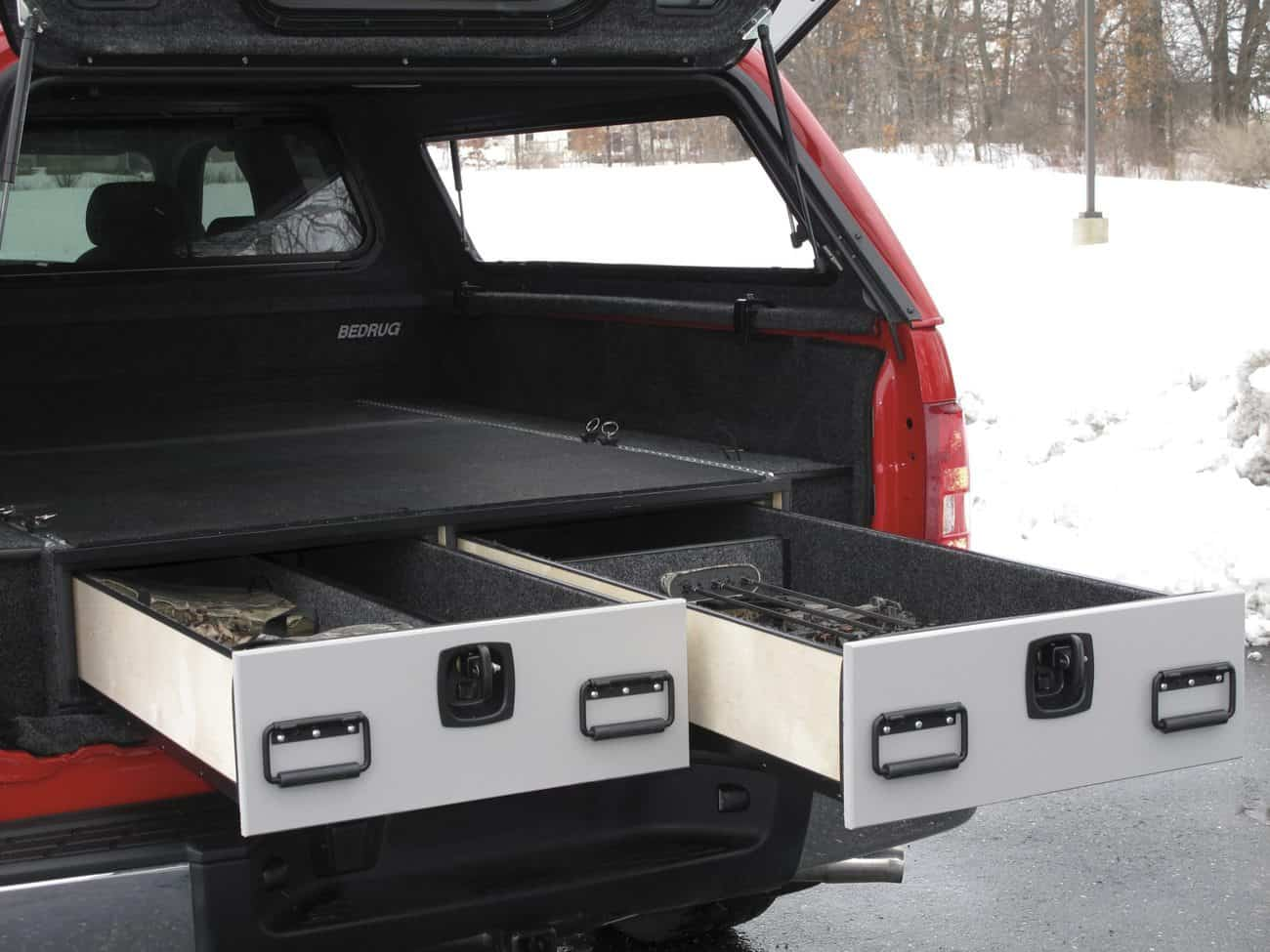 ARE drawer in truck