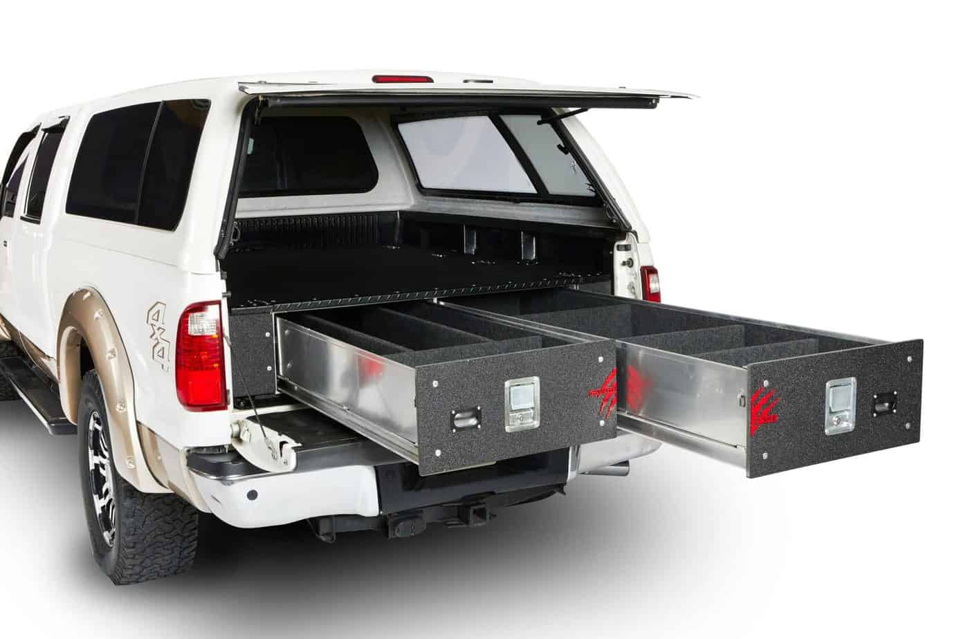 CargoEase drawers in truck open