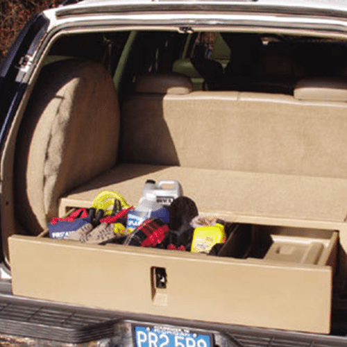 EPI drawer in vehicle open