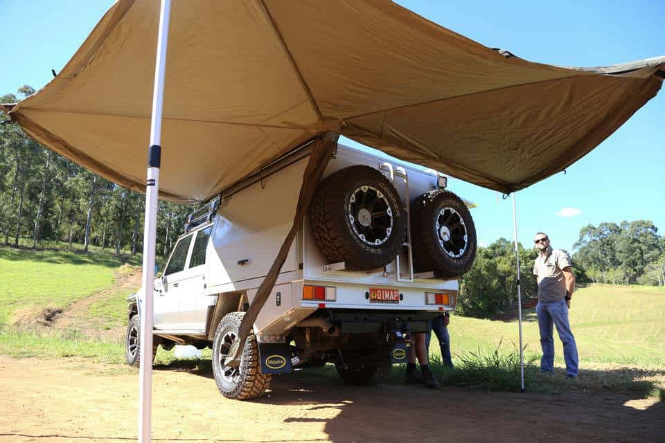 Ute Canopy Camping