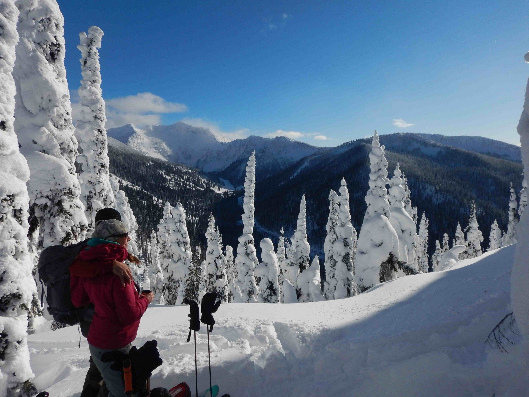 h and d ski touring in nelson photo randy williams
