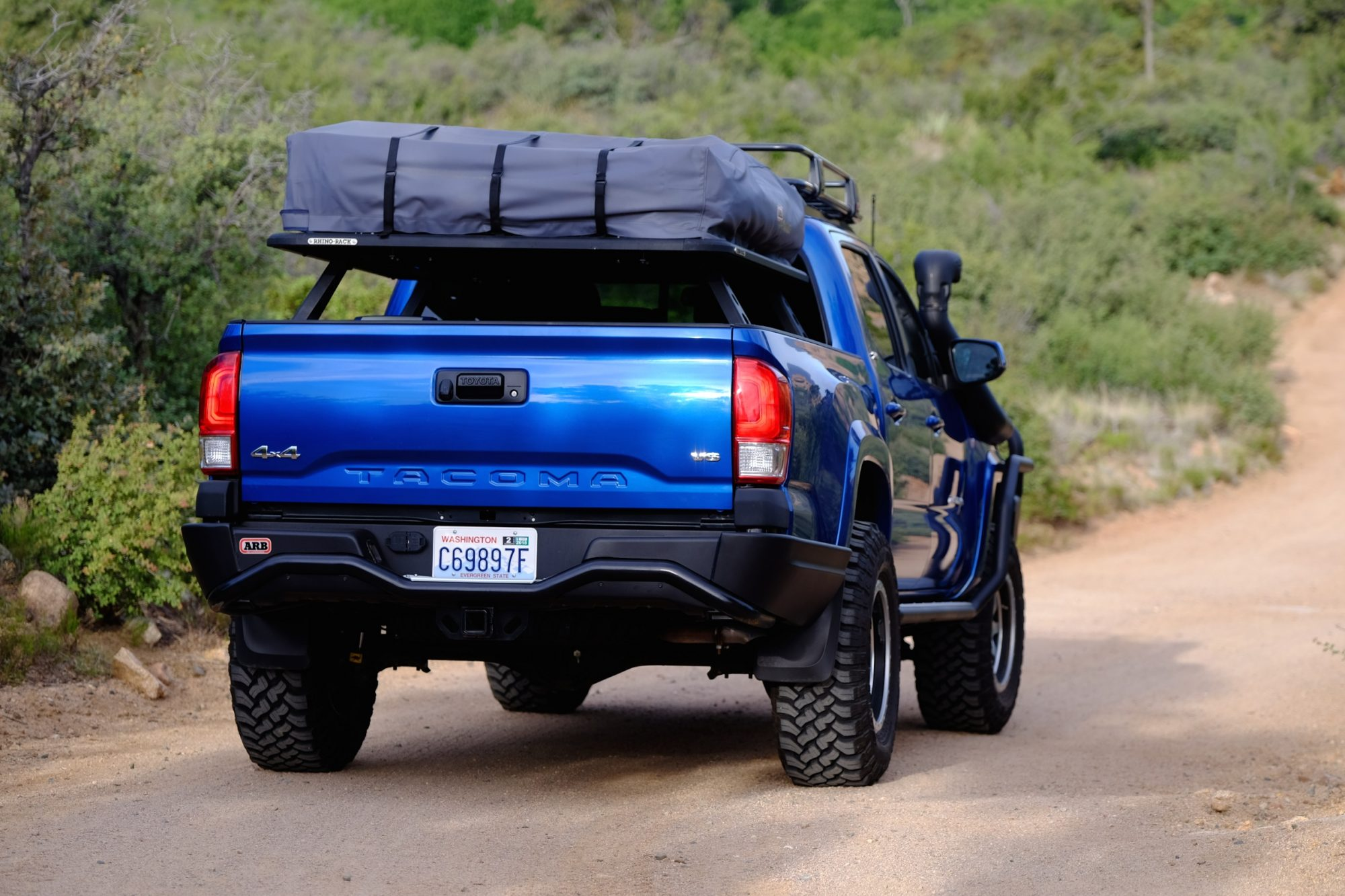 As handsome as the truck is its beauty is not skin deep. Hidden within are more ARB accessories to bolster the already superb off-road proficiency of the ... & Featured Vehicle: ARB 2016 Toyota Tacoma u2013 Expedition Portal