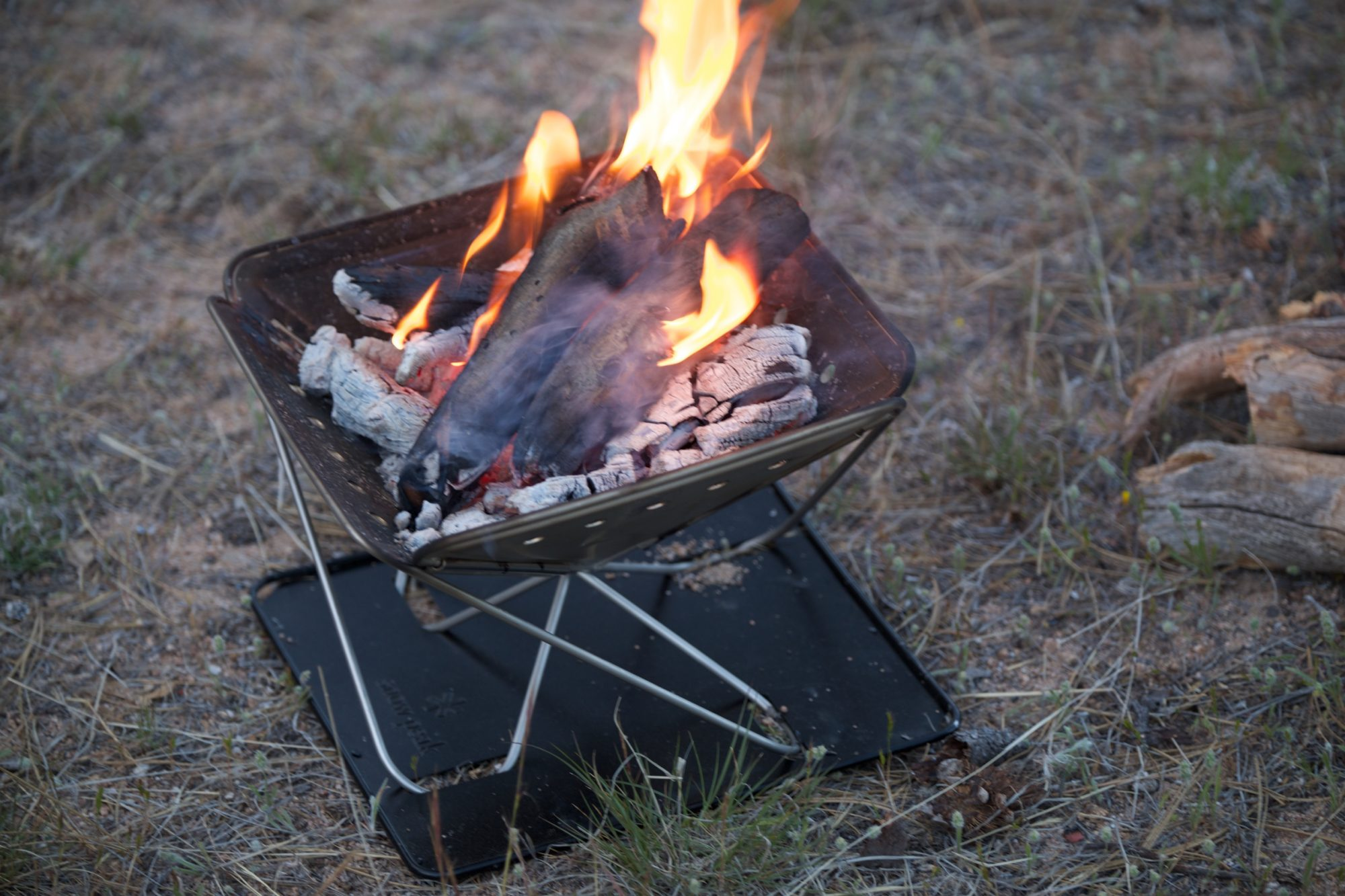 field tested snow peak pack u0026 carry fireplace small u2013 expedition