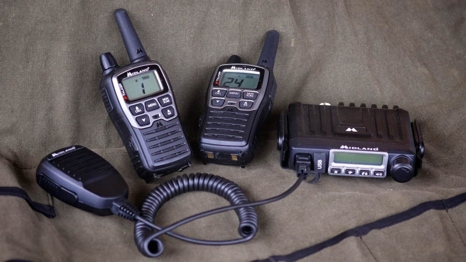 Midland FRS/GMRS Handheld and Dash Mount Radios – Expedition
