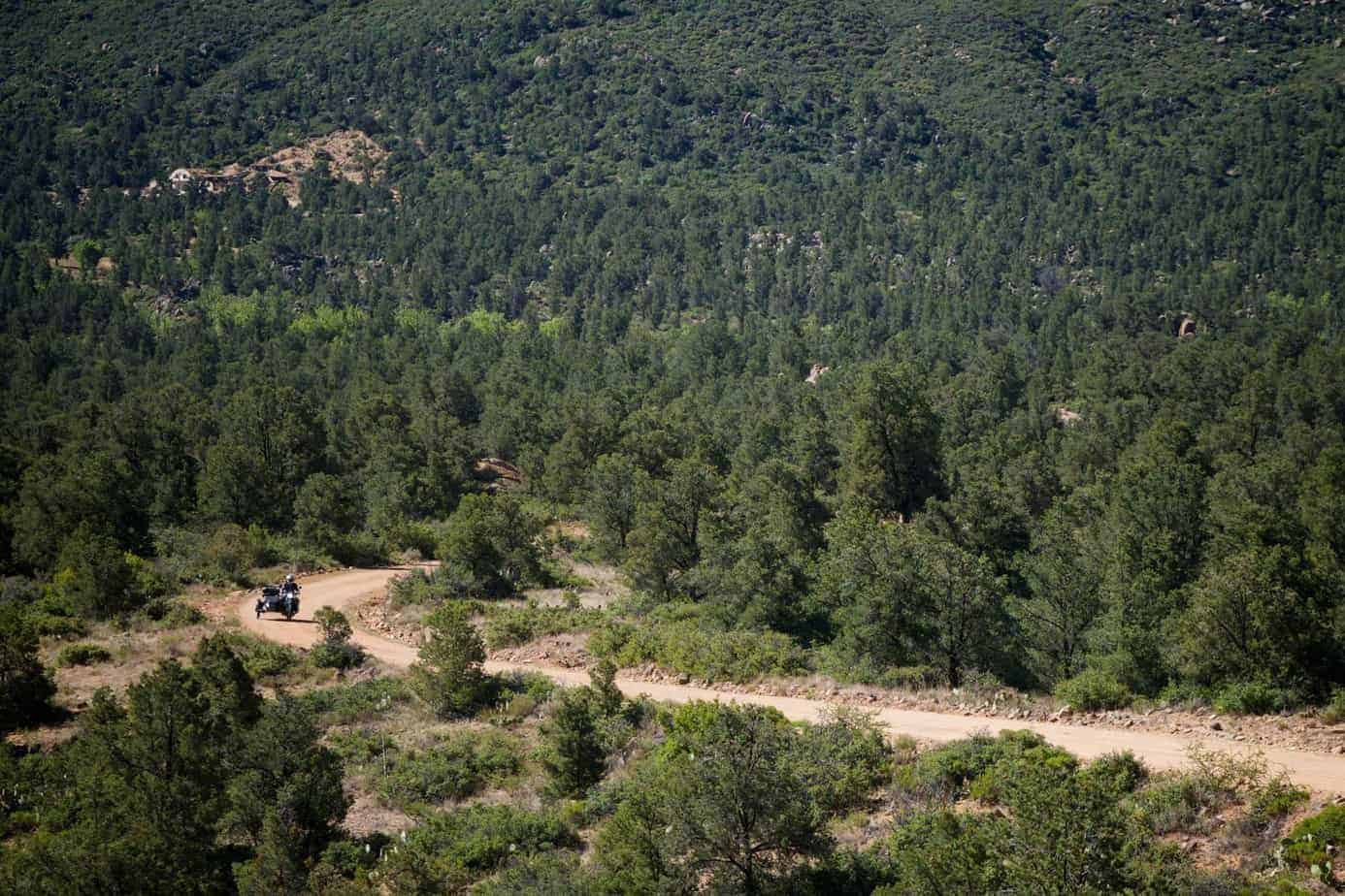 36 Hours of Adventure: Pines, Saguaros, and a Russian Motorcycle