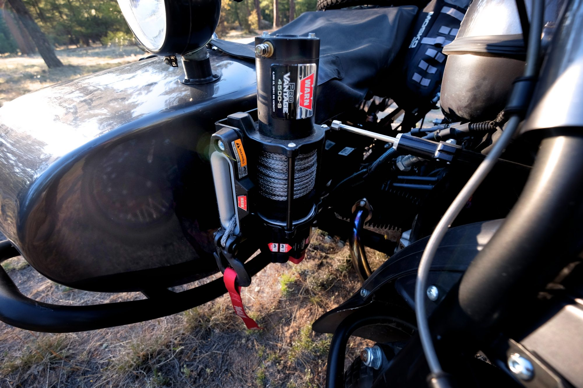 Featured vehicle kalaber creations ural gear up for Motor cycle without gear
