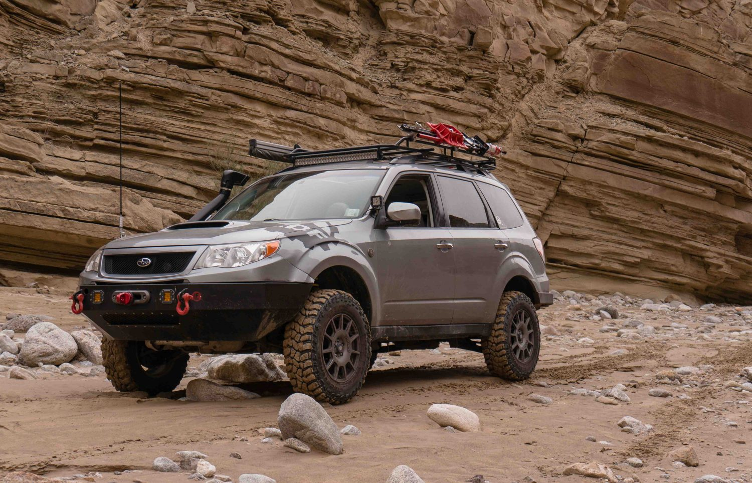 Featured Vehicle Fozroamer S Subaru Forester Expedition