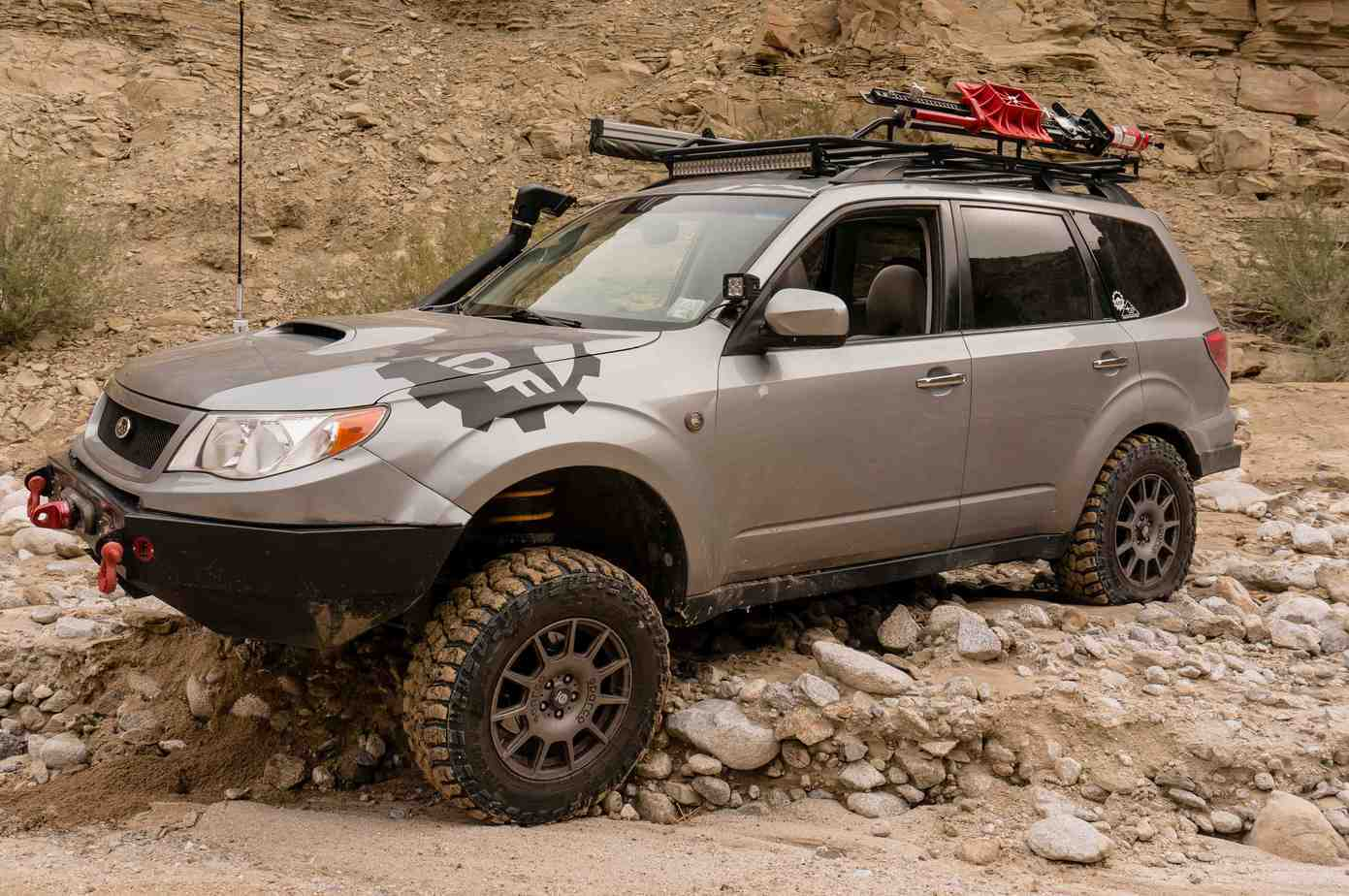Subaru Forester Off Road >> Featured Vehicle: FozRoamer's Subaru Forester – Expedition
