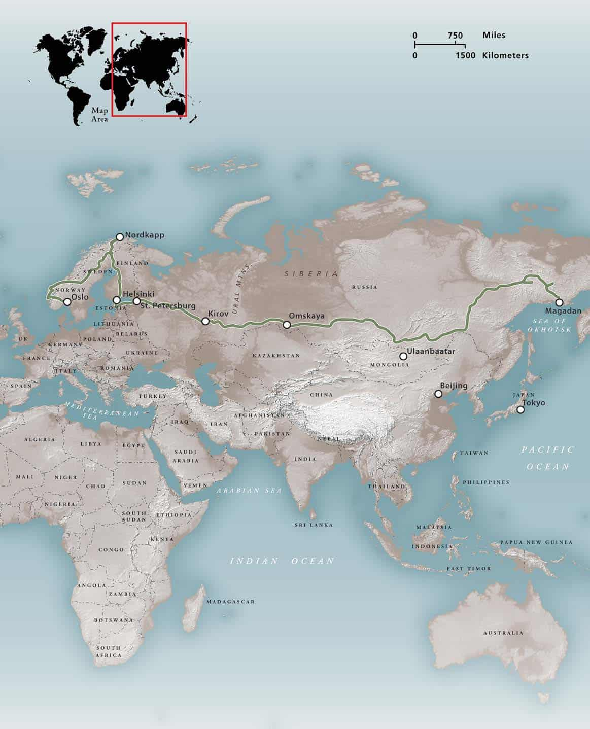 Expeditions Ghosts Of Eurasia Expedition Portal - Lena river on world map