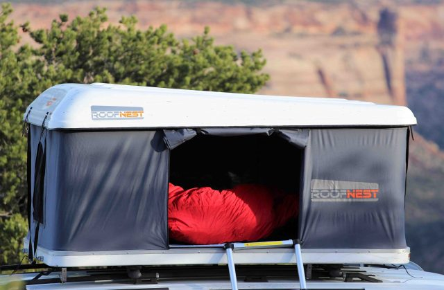 Gear Scout Roofnest Hard Shell Rooftop Tent Expedition