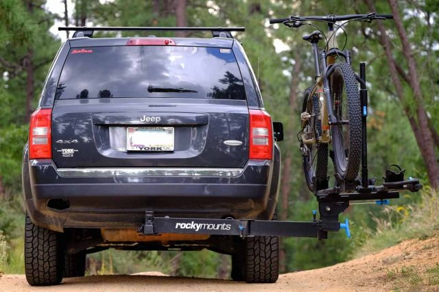 Field Tested Rocky Mounts Backstage Swing Out Hitch Rack