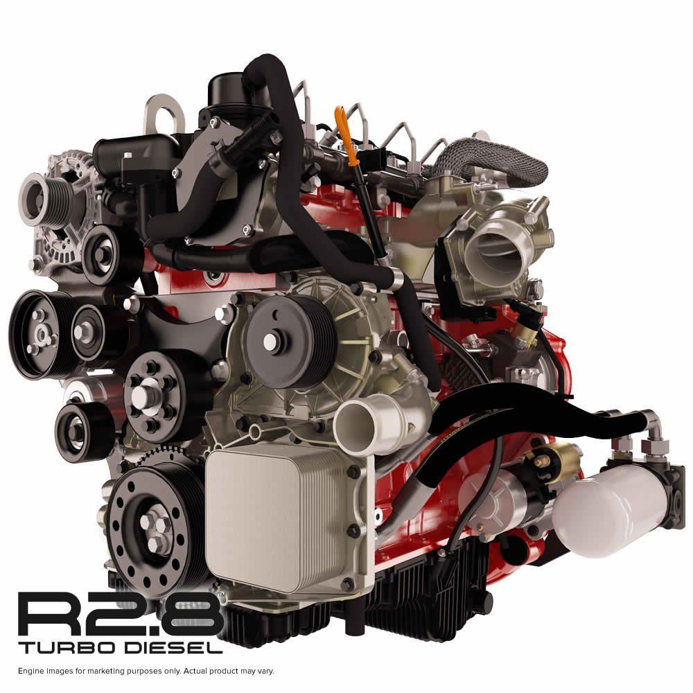 Cummins Now Taking Orders For Their R2 8 Turbo Diesel