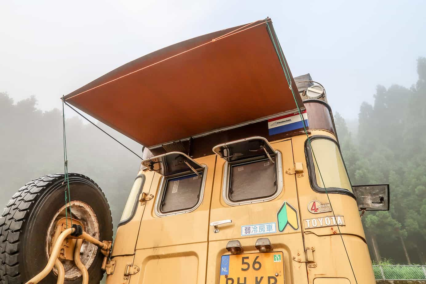 How To Build an Inexpensive Rear-door Awning - Expedition ...